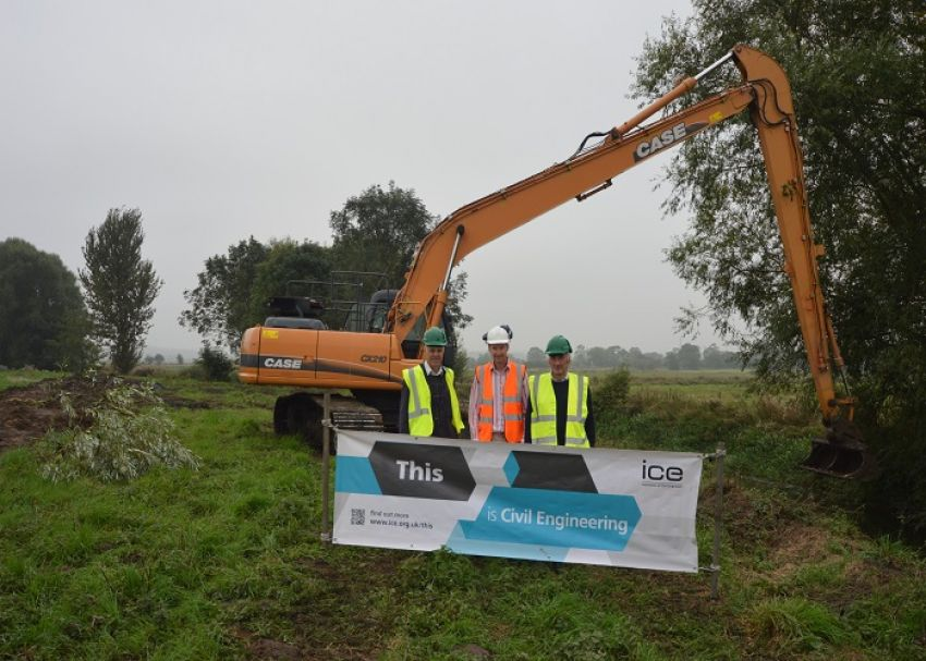 Flood Protection Scheme River Perry